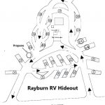 Park Map Rayburn RV Hideout